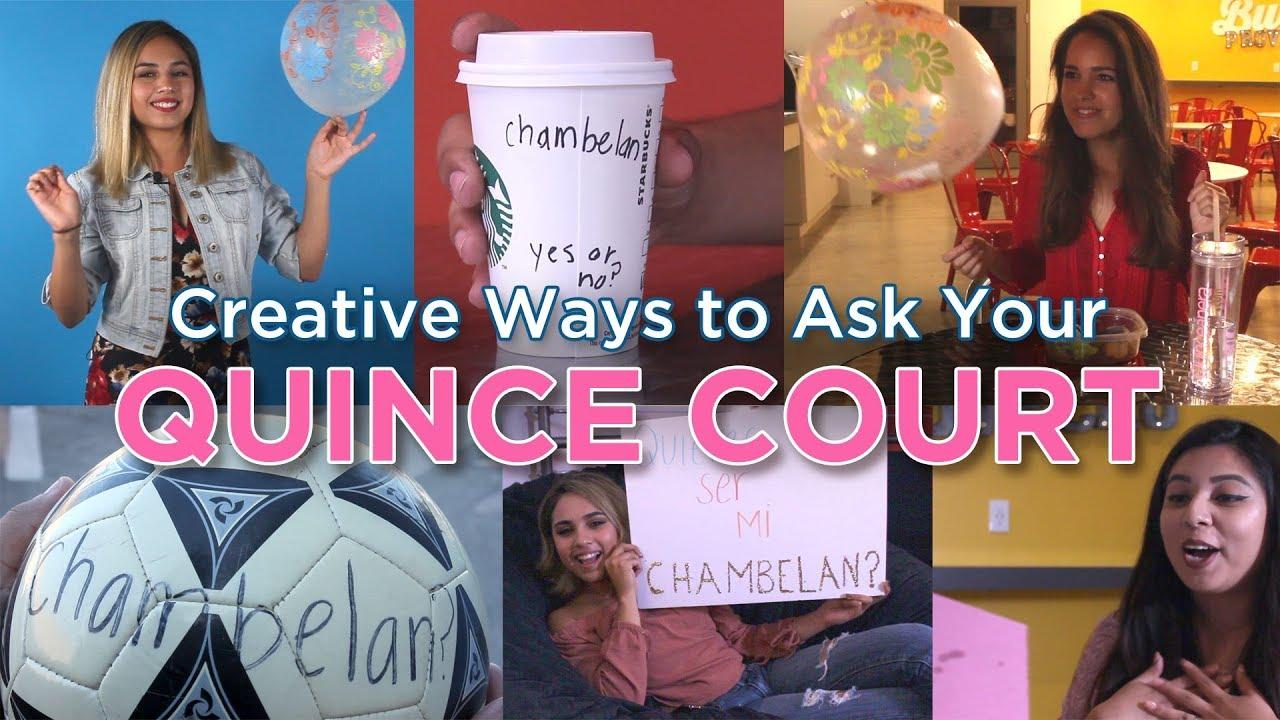 Quinceanera Court Invitation Ideas: DIY