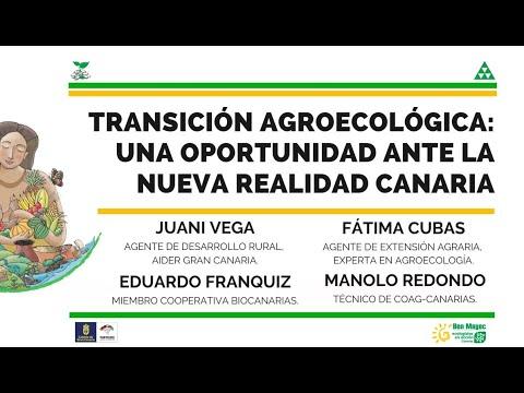 MESA REDONDA: TRANSICIÓN AGROECOLÓGICA: OPORTUNIDAD ANTE LA NUEVA REALIDAD CANARIA