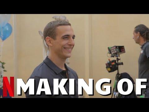 Making Of SKY HIGH (HASTA EL CIELO) - Best Of Behind The Scenes with Miguel Herrán   Netflix Movie