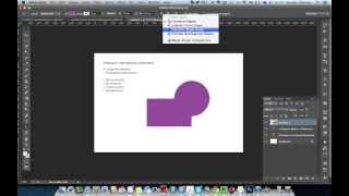 WDI PS. Базовые инструменты Photoshop - Урок 01: Операции с векторными объектами в Photoshop