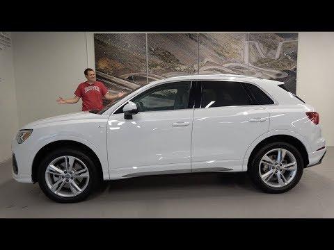 Audi Q3 2019 года - это новый малыш-внедорожник Audi