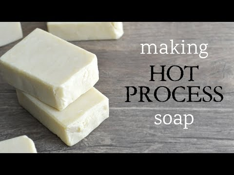 I'm Making Hot Process Soap! | MO River Soap
