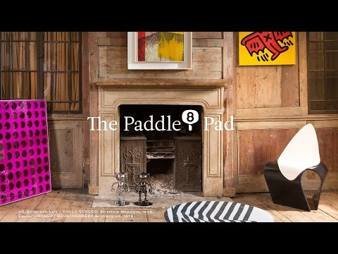 Enter the Paddle8 Pad – live from our London townhouse