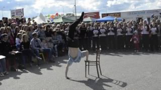 Танец со стулом. Танцевальный батл в День молодежи. г. Соликамск