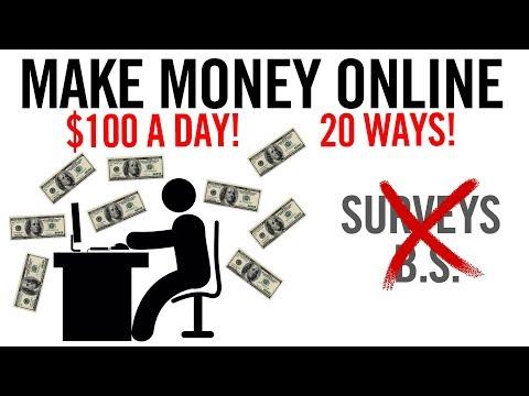 20 Ways To Make Money Online 💸 (ACTUAL Methods, No BS)