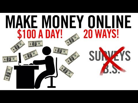 20 Ways To Make Money Online 💸 (ACTUAL Methods, No BS)