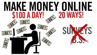 20 طرق لكسب المال على الانترنت   (الطرق الفعلية لا BS)