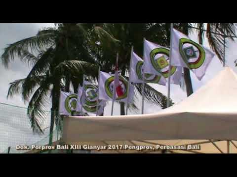 Softball Porprov Bali XIII Kabupaten Gianyar Tahun 2017