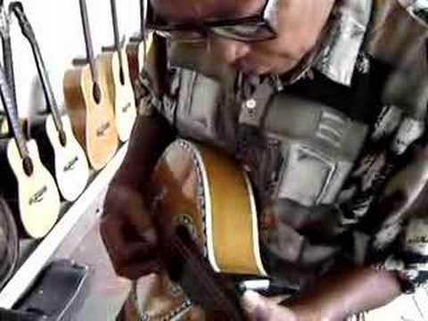 Inday Celia's Guitar Factory, Lapu Lapu City, Cebu