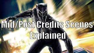 Black Panther: Mid/Post Credits Scenes Explained
