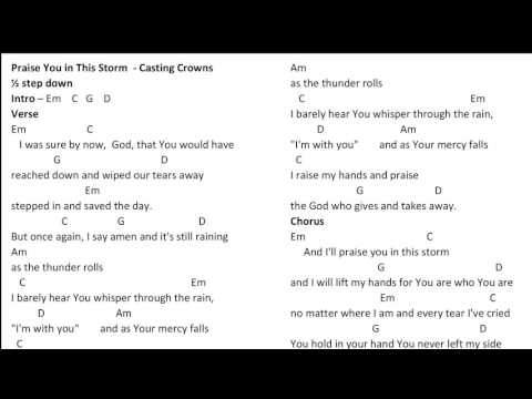 At Your Feet Chords By Casting Crowns Worship Chords