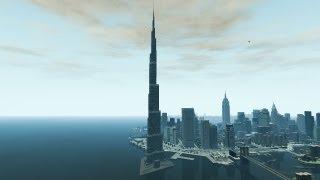 Grand Theft Auto IV - Burj Khalifa (Dubai) (MOD) HD