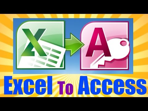 Microsoft Access 2013 Tutorial - 3 Hours - Import Excel Into Access