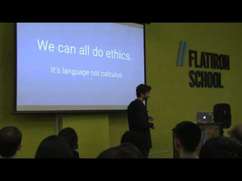 Ethics in Technology Talk with Senior Software Engineer Michael Schidlowsky