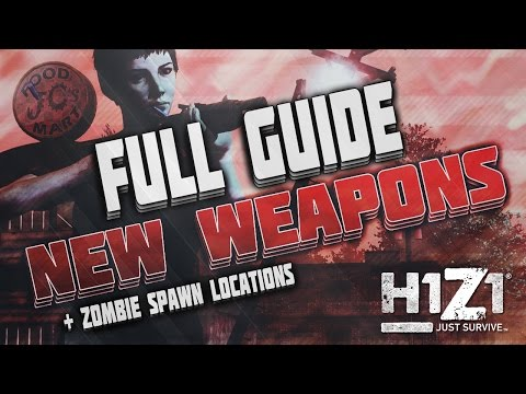 H1z1 King Of The Kill All Weapon Animations Firs