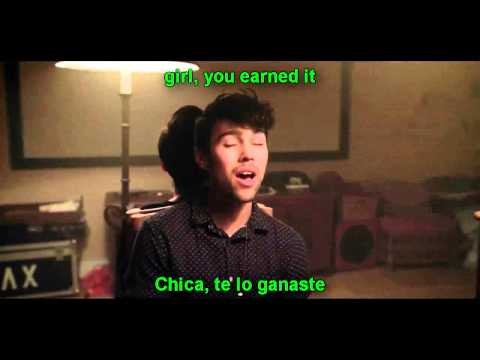 Earned It - Kina Grannis  MAX  KHS Cover lyrics + sub español