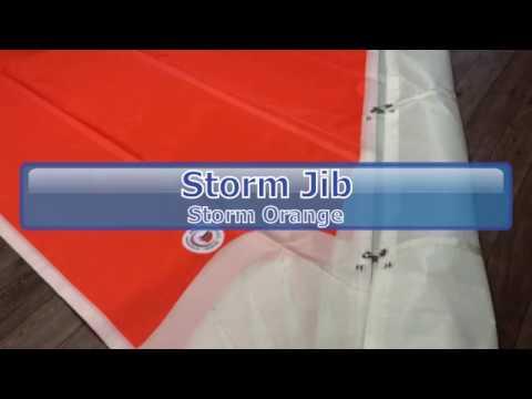 Storm Jib - Custom Designed by Precision Sails