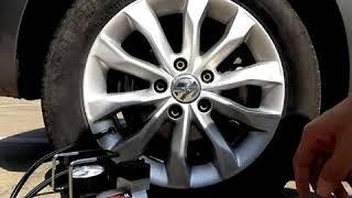Máy bơm lốp ô tô 12V TBO-150, Bơm lốp xe hơi mini, Bơm lốp dự phòng, Air Compressor