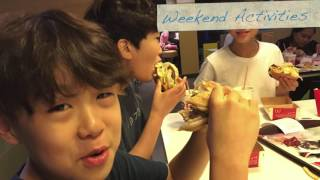 How do Korean kids spend their winter vacation in Philippines