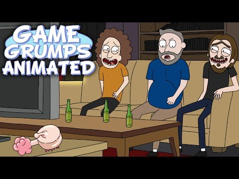 Game Grumps Animated  Dan Harmon Bath Time  by willoughby