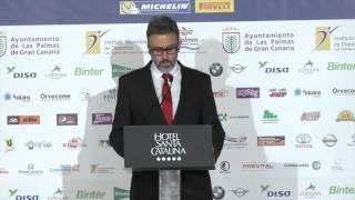 Presentación del Rally Islas Canarias El Corte Inglés
