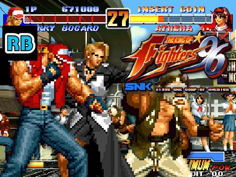 1996 60fps The King Of Fighters 96 915500pts Edit All Youtube