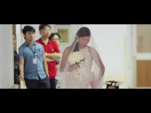 Sad wedding video: Ten hours after the wedding the bride is already a widow