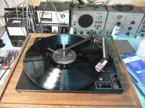 1975 Soundesign 435 Record Player Bsr Changer Youtube