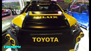 Toyota Hilux Pickup Custom Modified Yellow-Black Manila Auto Salon 2018