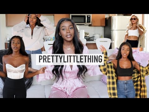 FALL TRY ON HAUL | Pretty Little Thing
