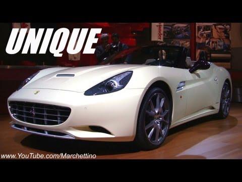 Ferrari California 30 Tailor Made One-Off - 2012 Paris Motor Show