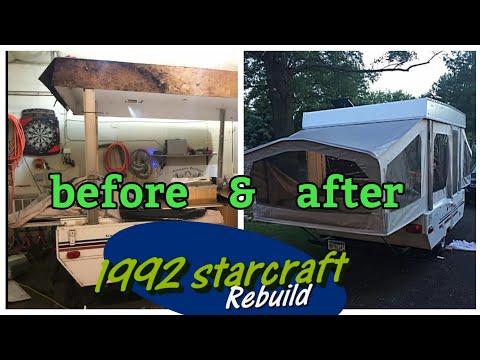 Pop-Up camper make over / rebuild, 1992 Starcraft