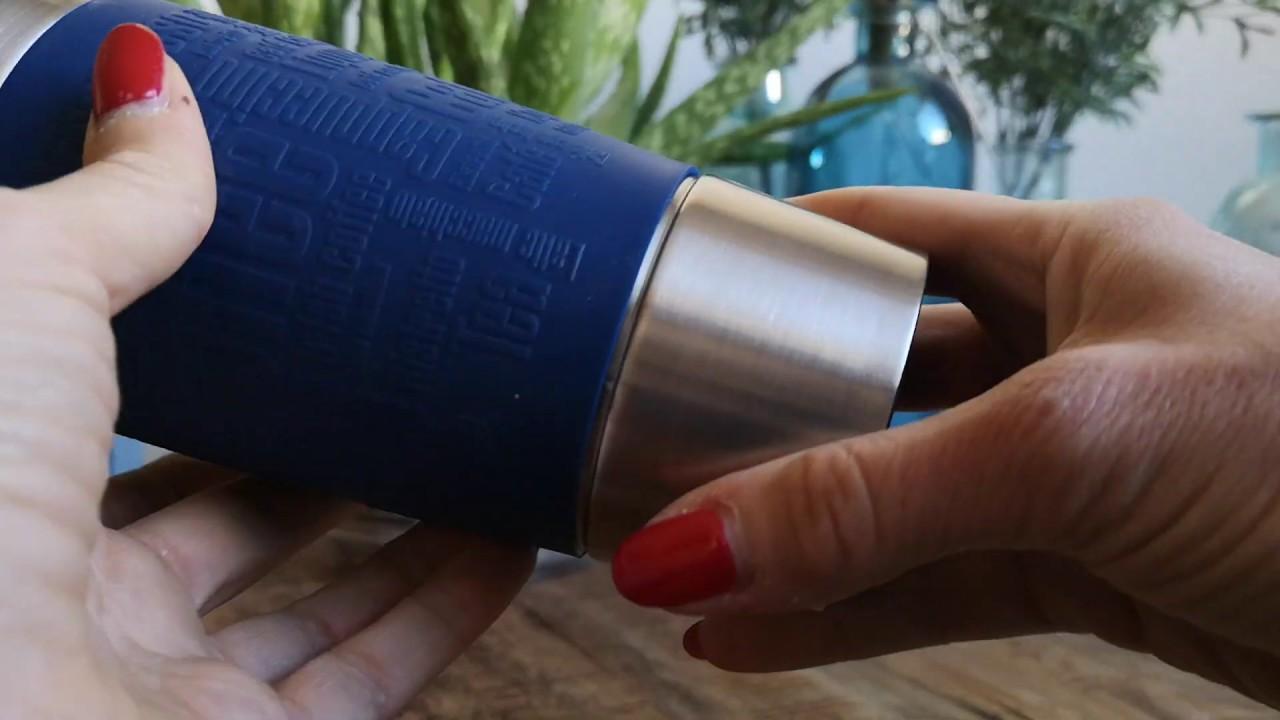 Emsa Thermobecher Travel Mug Personlicher Review Youtube