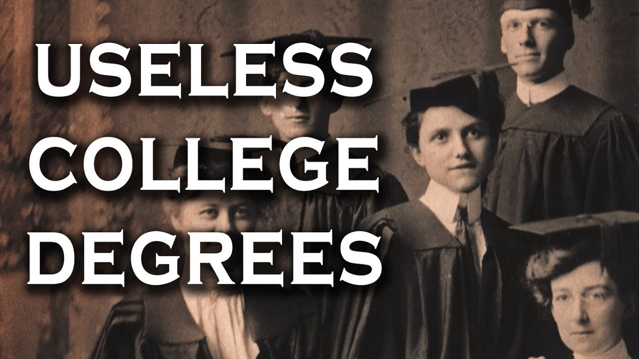 Is an English Degree worthless?