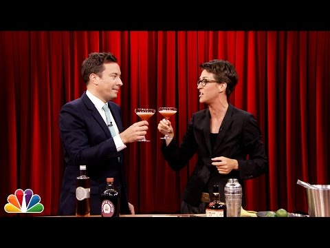 Mixing Cocktails with Rachel Maddow