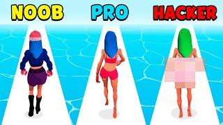 NOOB vs PRO vs HACKER - Get Lucky screenshot 1