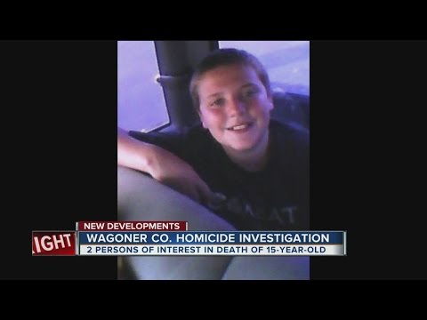 Person of interest in connection to Wagoner County homicide arrested