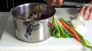 How to Make Chicken Stock – Bruno Albouze – THE REAL DEAL