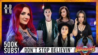 Don't Stop Believin' - Journey cover by Halocene ft F211, Violet Orlandi, Lauren Babic, Cole Rolland
