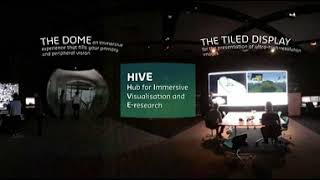 Curtin's HIVE immersive visualisation facility | 360° virtual experience