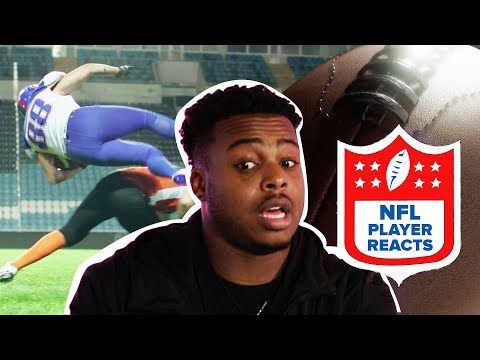 NFL Player Reacts To Hardest Movie Hits