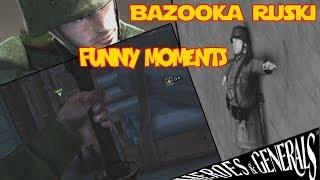 Bazooka Ruski Funny Moments #1  Heroes & Generals