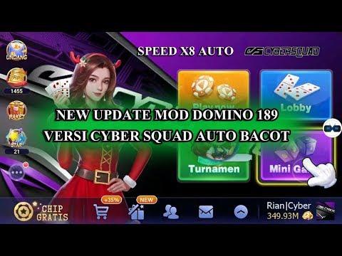 Aplikasi Mod Game Domino Qiu Qiu Versi 1.8.9 Cyber Squad
