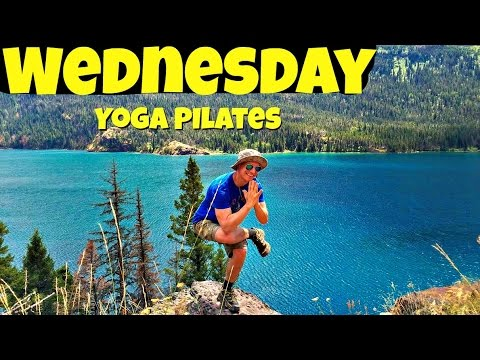 Wednesday - Complete Yoga Pilates Workout Routine - 7 Day Pilates Challenge #yogapilates