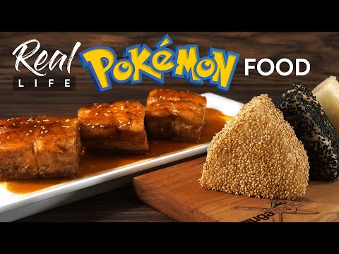 We made POKÉMON food and it tasted AWESOME!