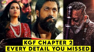 KGF Chapter 2 Teaser Every Detail You Missed || ComicVerse