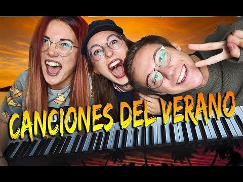 CANTANDO LAS CANCIONES DEL VERANO ( 2000-2018) Con Carla y David