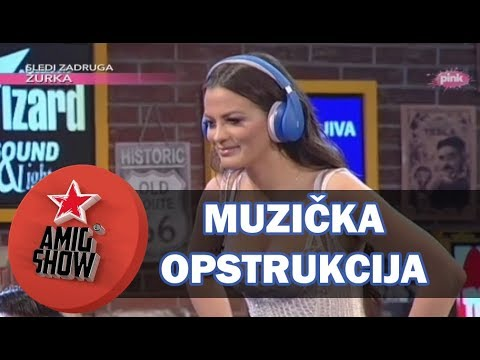Muzička Opstrukcija - Ami G Show S11 - E31