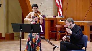 """Corelli-Poxon - """"La Folia"""": Anne Akiko Meyers, violin; Jason Vieaux, guitar"""
