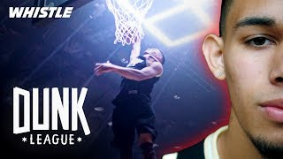 21-Year-Old Future Dunk League CHAMP? | Isaiah Rivera Video